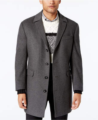 Calvin Klein Men's Minneapolis Wool-Blend Slim-Fit Overcoat