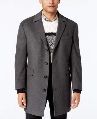 Calvin Klein Men Minneapolis Wool-Blend Slim-Fit Overcoat