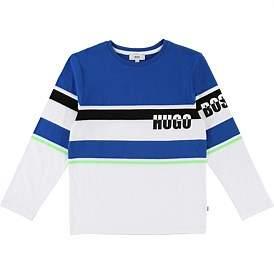 388b65a17 HUGO BOSS Long Sleeve T-Shirt (4-5 Years)