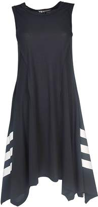 Y-3 Handkerchief Hem Sporty Dress