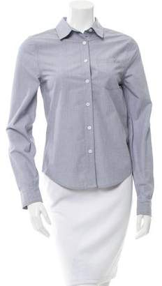 Equipment Long Sleeve Button-Up Top w/ Tags