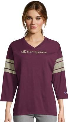 Champion Women's Heritage Football Tee