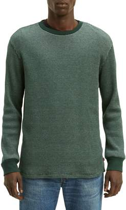 Levi's Thermal Waffle-Knit Cotton Long-Sleeve Tee