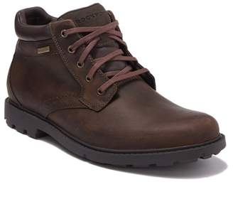 Rockport Rugged Bucks Waterproof Leather Plain Toe Boot - Wide Width Available