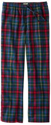 L.L. Bean L.L.Bean Men's Flannel Pajama Pants