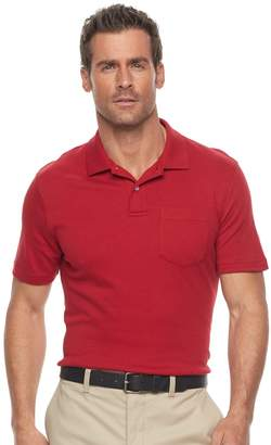 Croft & Barrow Men's Tailored-Fit Easy-Care Interlock Polo