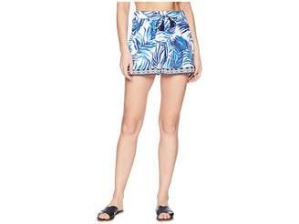 Tommy Bahama Fuller Fronds Pull-On Short Cover-Up Women's Swimwear