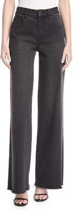 Robert Rodriguez High-Waist Wide-Leg Denim Pants