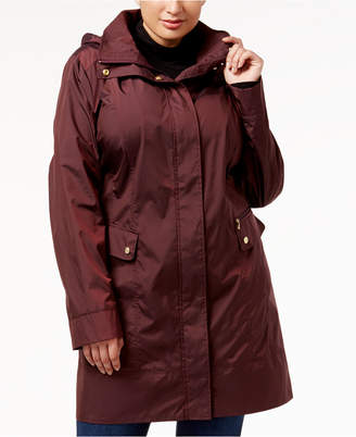 Cole Haan Plus Size Packable Raincoat