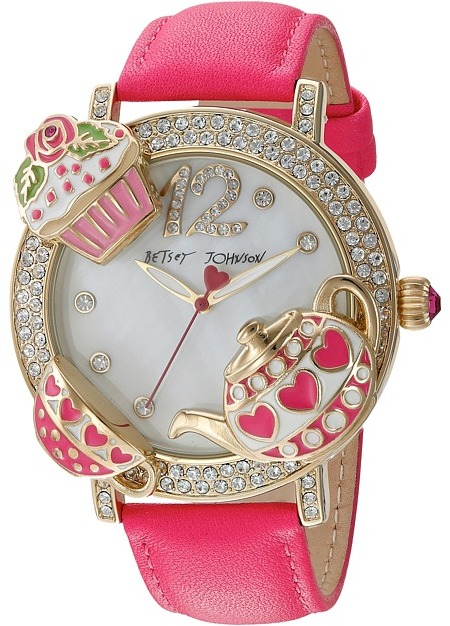 Betsey Johnson Betsey Johnson - BJ00614-02 - Tea Party Face Watches