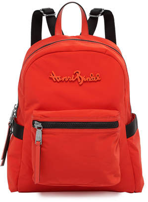 Henri Bendel Studio Nylon Backpack