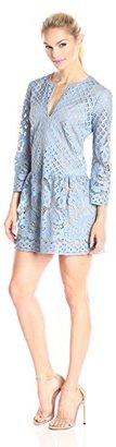 BCBGMax Azria Women's Laurice Knit Casual Dress $298 thestylecure.com