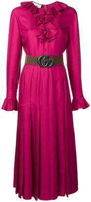 Gucci GG belted dress
