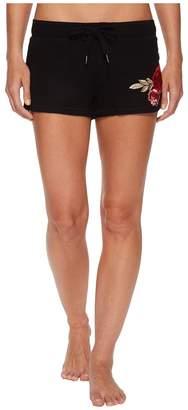 PJ Salvage Rock 'N Rose Graphic Shorts Women's Shorts
