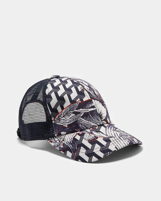 e57793e27 Ted Baker SWINGIT Printed baseball cap