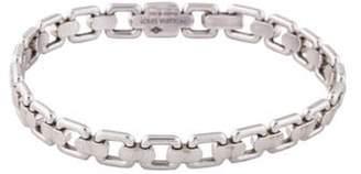 Louis Vuitton 18K Square Link Bracelet white 18K Square Link Bracelet