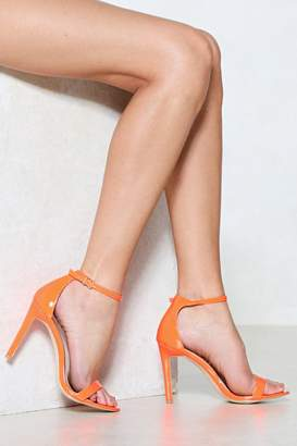 Nasty Gal Worlds Apart Heeled Sandal