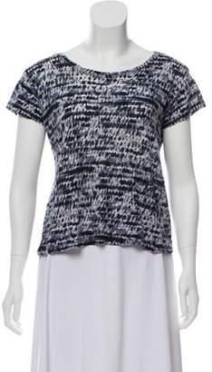 Proenza Schouler Printed Knit Top