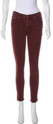 The Great Mid-rise Skinny Jeans