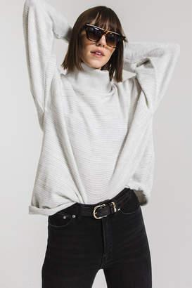 Rag Poets Aja Soft Knit Cowl Neck Sweater