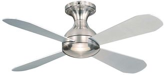 Martec Ariel 4-Blade CTC Ceiling Fan, Brushed Nickel