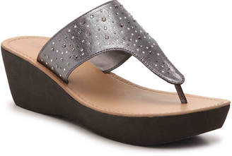 Kenneth Cole Reaction Fine Glitz Wedge Sandal - Women's