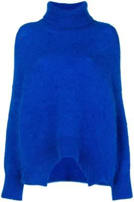 Valentino fuzzy knit jumper