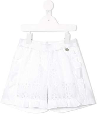 Simonetta broderie anglaise shorts