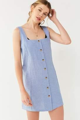 Motel Madison Chambray Button-Down Dress