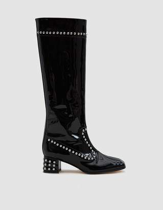 Kiki Boot in Black Leather