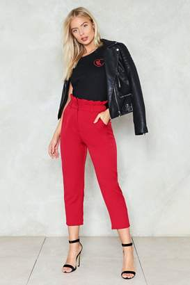 Nasty Gal Crazy Little Thing Called Love High-Waisted Pants