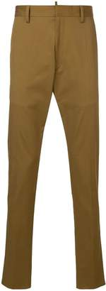 DSQUARED2 regular fit tailored trousers