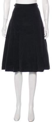 Gabriela Hearst Corduroy Knee-Length Skirt w/ Tags