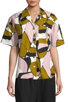 Marc Jacobs Printed Short-Sleeve Shirt