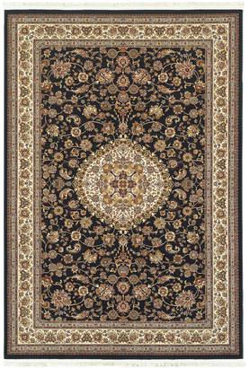 "Oriental Weavers Masterpiece Rani Navy 7'10"" x 10'10"" Area Rug"