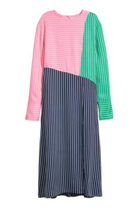 H&M Color-block Dress