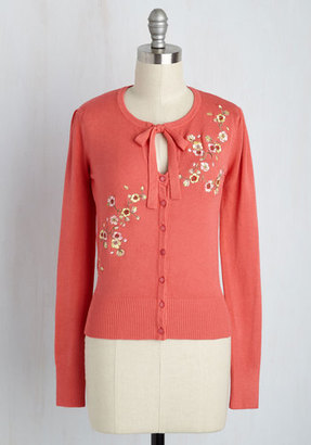 Banned Top to Blossom Cardigan in Coral $49.99 thestylecure.com