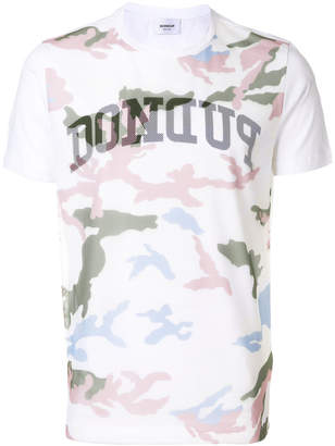 Dondup camouflage print T-shirt