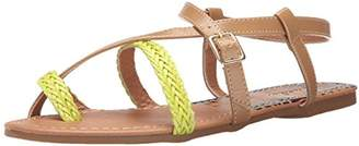 Qupid Women's Archer-61X Toe Ring Sandal