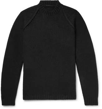 Ten C Ribbed Wool-Blend Sweater