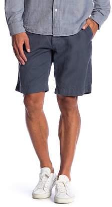 Faherty Cotton & Linen Mid Rise Shorts