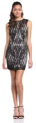 Lipsy Wax Cornelli Trim Body Con Women's Dress