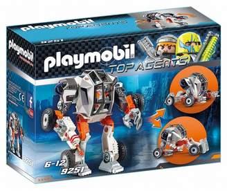 Playmobil UK Boys 9251 Top Agents Agent T.E.C.s Robot