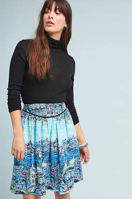 e911407bcf59 Anthropologie 52 Conversations by Colloquial A-Line Skirt