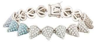 Eddie Borgo Ombré Pavé Crystal Small Cone Bracelet