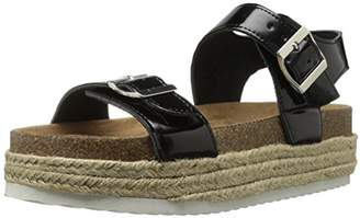 Qupid Women's Geona-02 Espadrille Wedge Sandal