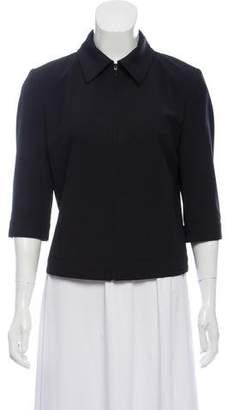 Dolce & Gabbana Short Sleeve Wool Jacket