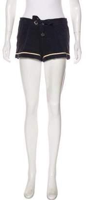 Tory Burch Fleece Mini Shorts