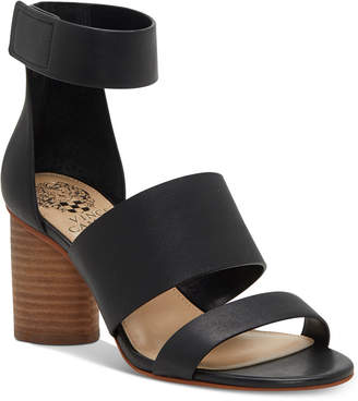 Vince Camuto Junette Cylinder-Heel Dress Sandals Women's Shoes
