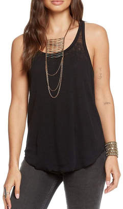 Chaser Vintage Lace-Up Tank